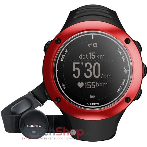 Ceas Suunto OUTDOOR SS019209000 Ambit2 S Red HR