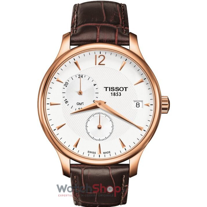 Ceas T-CLASSIC T063.639.36.037.00 Tradition GMT