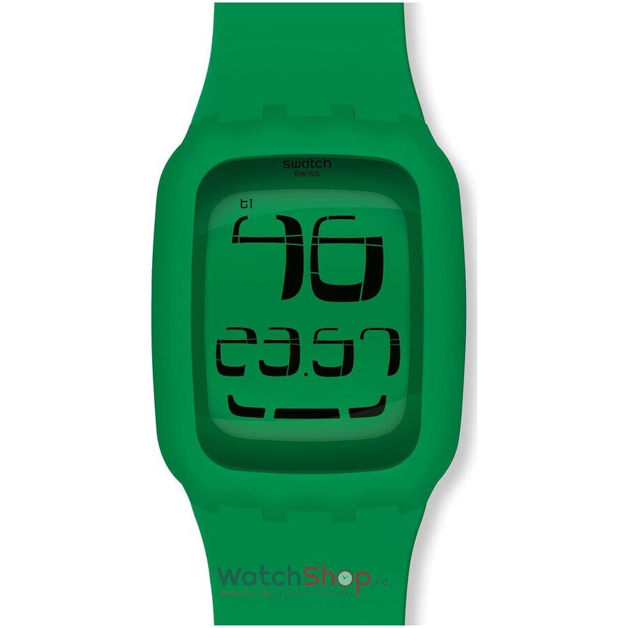 Ceas Swatch DIGITAL SWATCH TOUCH SURG102 Swatch Touch Green