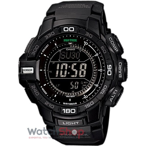 Ceas Casio PRO TREK PRG-270-1AER Solar Triple Sensor Version 3 de la Casio