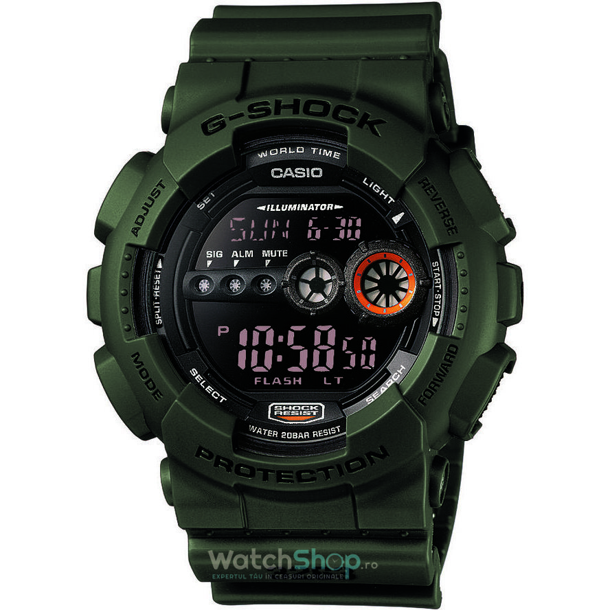 Ceas G-SHOCK GD-100MS-3ER Extra Large