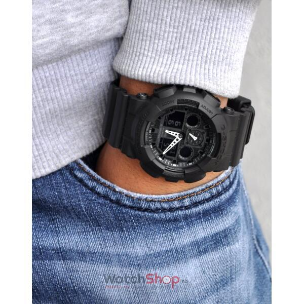 Ceas Casio G-SHOCK GA-100-1A1ER Antimagnetic