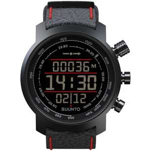 Ceas Suunto ELEMENTUM TERRA BLACK AND RED LEATHER