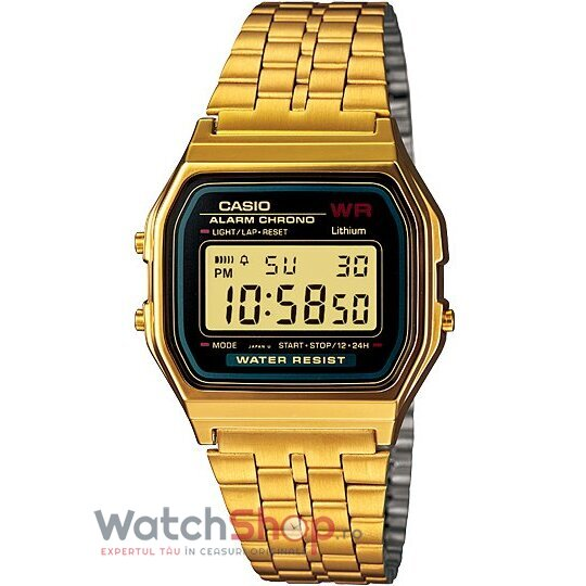 Ceas Casio RETRO A159WGEA-1DF Gold de la Casio