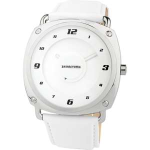Ceas Lambretta BRUNORI 2074whi Leather White