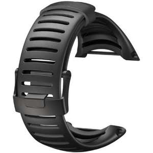 Curea (bratara) Suunto CORE ALL BLACK LIGHT STRAP SS018650000