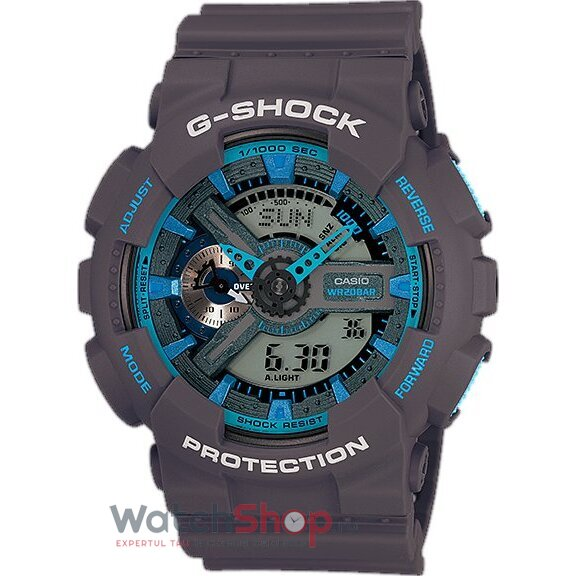 Ceas Casio G-SHOCK GA-110TS-8A2ER Antimagnetic Hyper Colours