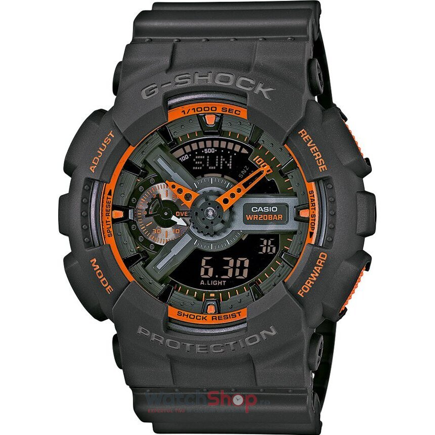 Ceas Casio G-SHOCK GA-110TS-1A4ER Antimagnetic Hyper Colours