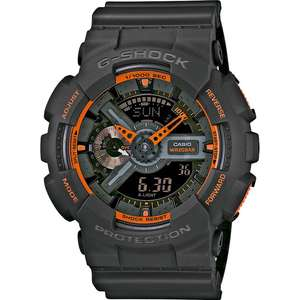 Ceas Casio G-SHOCK GA-110TS-1A4ER Antimagnetic Hyper Colors