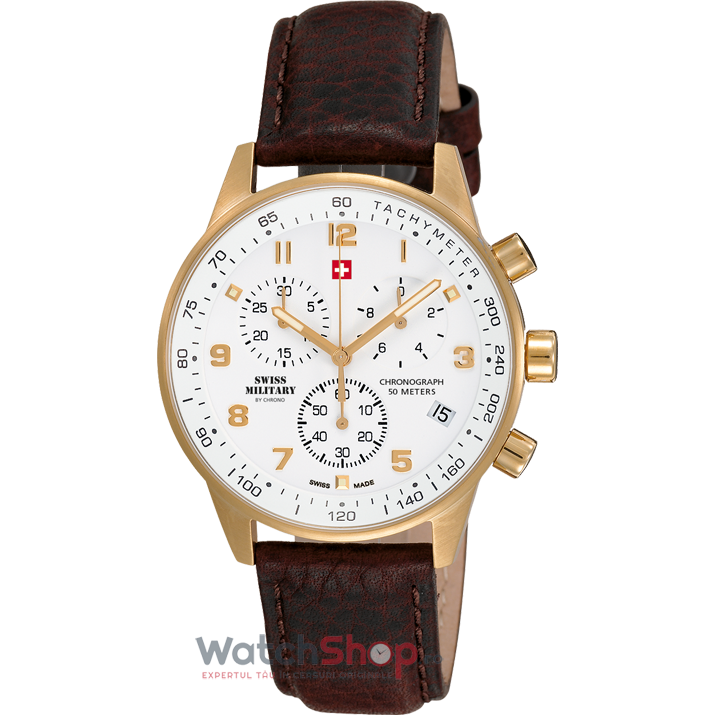 Ceas Swiss Military by CHRONO SM34012.07 Cronograf de la Swiss Military
